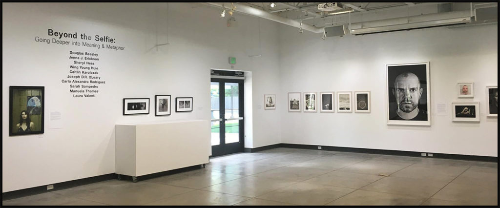 Installation view, Beyond the Selfie at White Bear Center for the Arts